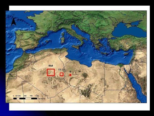 Солнечная энергия Сахары