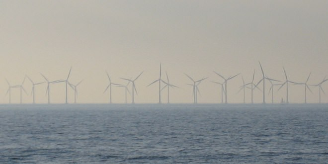 Ветряная оффшорная электростанция