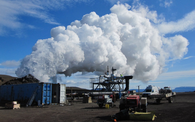 Исландская IDDP-1, первая в мире геотермальная система, работающая на магме