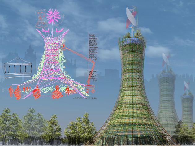 вертикальная ферма skyfarm