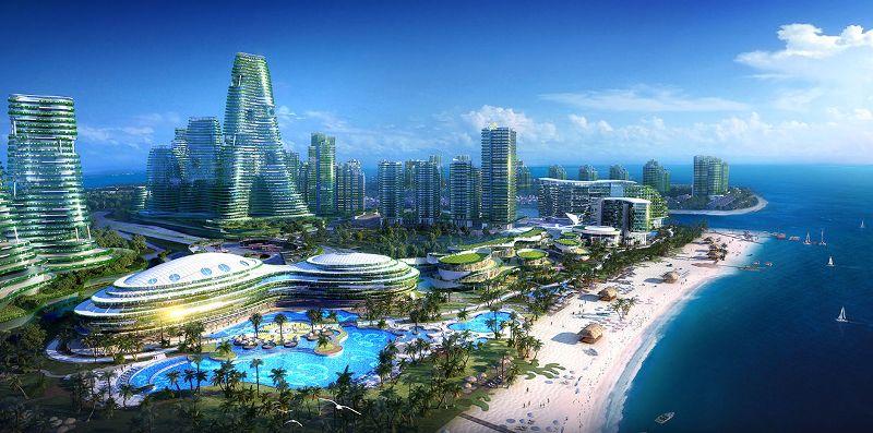 Зеленый город будущего
