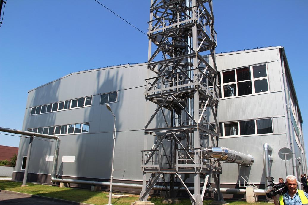 У Вінниці запустили котельню на деревній трісці потужністю 5,2 МВт