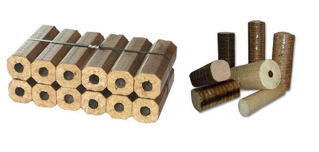 Преимущества древесных брикетов как топлива
