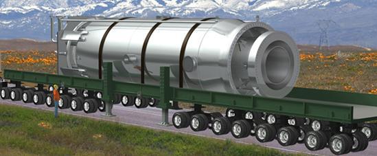 В США подача заявка на сертифицирование первой АСММ (Атомной Станции Малой Мощности)