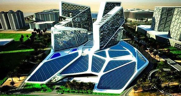 Отель в Дубае будет обеспечивать себя солнечной энергией