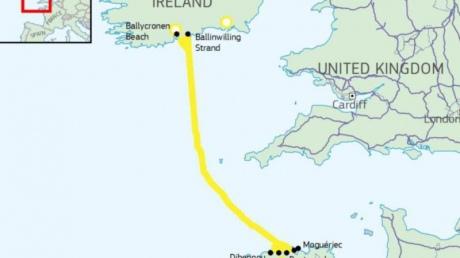 Франція та Ірландія об'єднають мережі з допомогою підводного кабеля