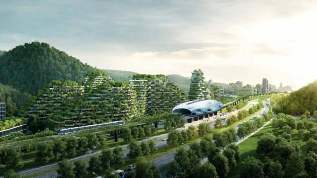 Лесной город - концепция экологических городов будущего