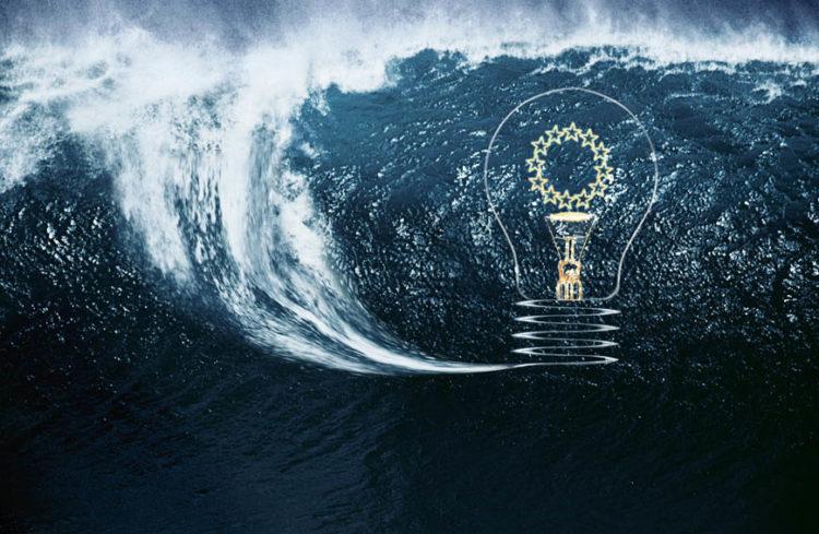 Перспективы энергии волн, океанских течений и приливов